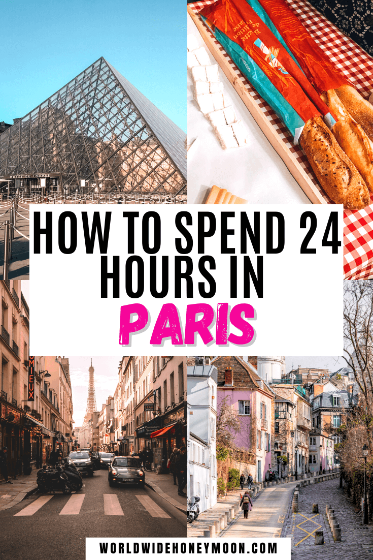 Find the best way to spend 1 Day in Paris | 1 Day in Paris France | 1 Day in Paris Tips | 1 Day in Paris Travel | Paris 1 Day | Paris 1 Day Itinerary | Paris Itinerary | Paris Itinerary Map | Paris Travel Ideas | Paris Honeymoon Ideas | 24 Hours in Paris | 24 Hours in Paris France | Paris in a Day | 24 Hours in Paris One Day| Europe Destinations | France Travel