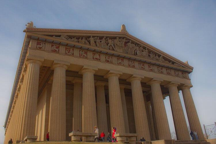 Parthenon in Nashville, Tennessee