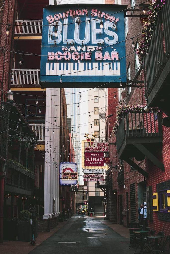 Side Streets in Nashville