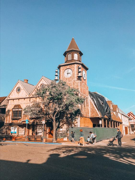 Town Square in Solvang - Free Things to See in Solvang