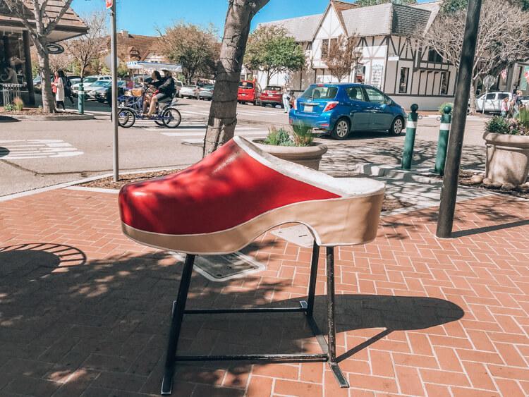 Wooden Shoe in Solvang