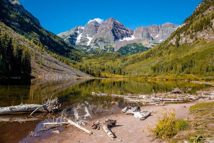 Aspen in the fall - Best October Vacation in the USA