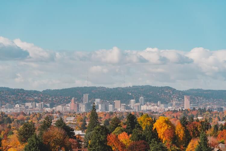Autumn in Portland, OR - Best Places to Visit in October in US
