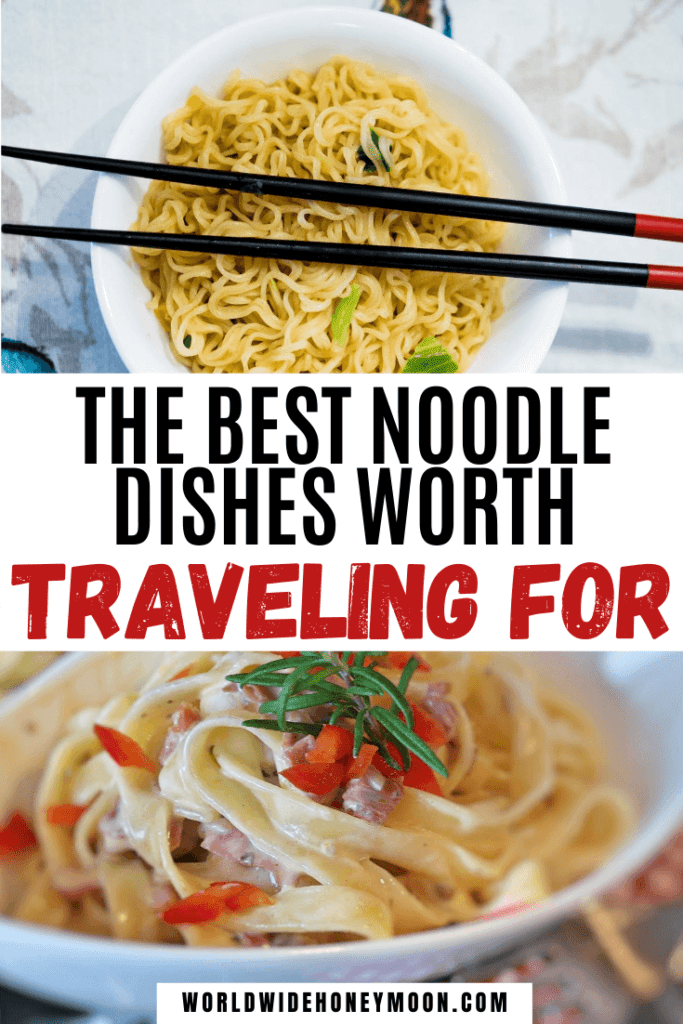 These are the best noodle dishes worth traveling for | Best Dishes in the World | Noodle Dishes | Noodle Stir Fry | Thai Food | Italian Food | Japanese Food | Vietnamese Food | Chinese Food | Cincinnati Style Chili | Khao Soi | Ramen Noodles | Dan Dan Noodles | Carbonara Pasta | German Spatzel | Hungarian Goulash | Egyptian Koshari | Koshari Egyptian Food | Best Pasta Dishes | Best Noodle Dishes in the World