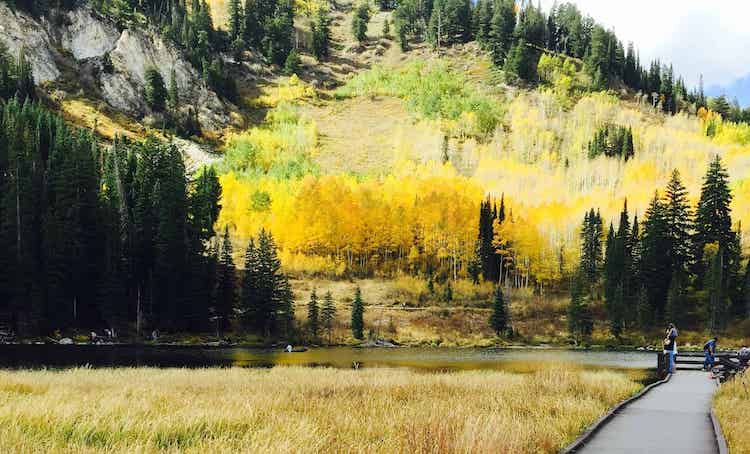 Fall in SLC - Best Places to Visit in October in the USA