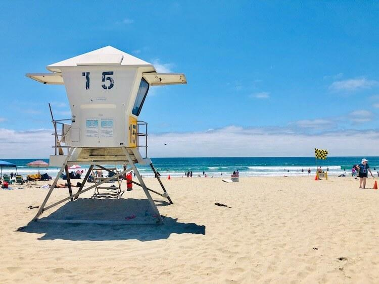 San Diego at the beach - Best Holiday Destinations in October