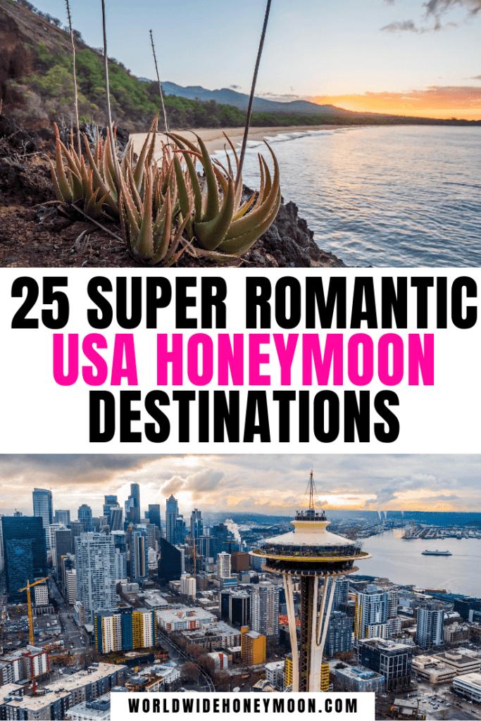 USA Honeymoon Destinations