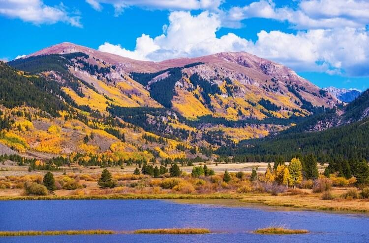 Vail, Colorado in the fall