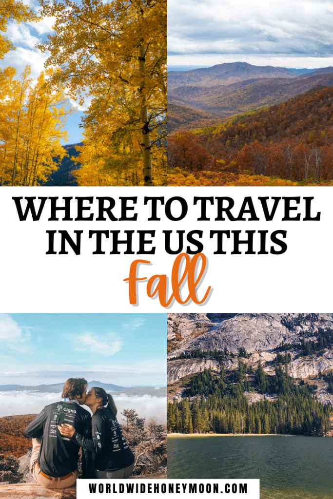 Where to Travel in the US This Fall