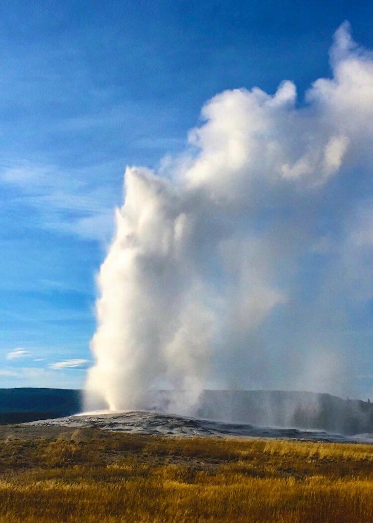 Yellowstone in the fall