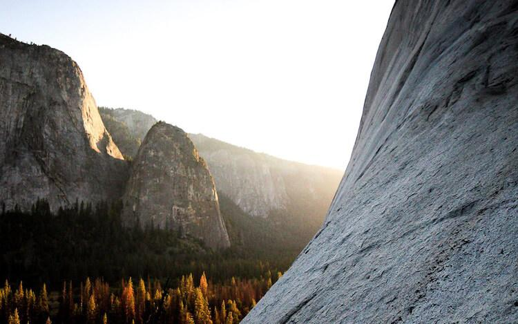 Yosemite Sunset in the fall - Best Fall Vacation in the US