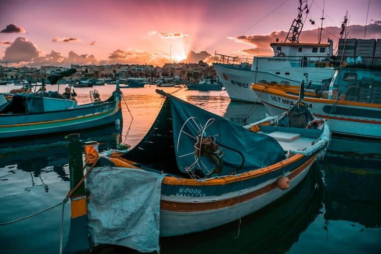 Fishing Village in Malta