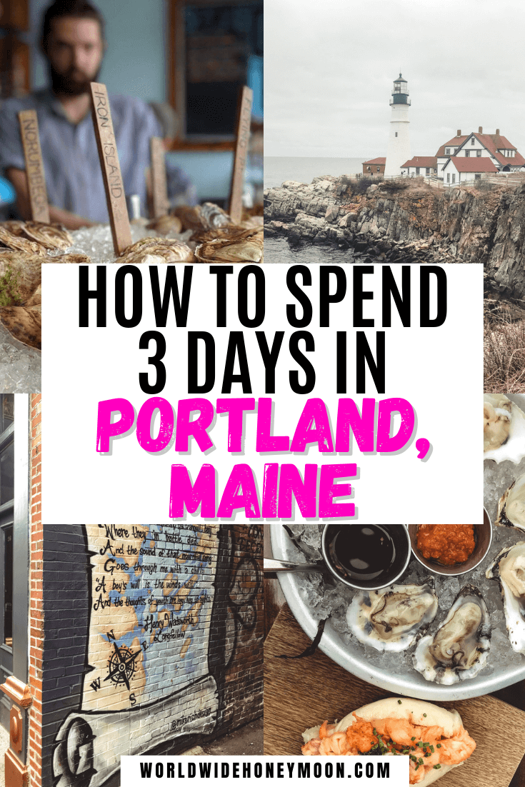 The best things to do in Portland Maine | 3 Days in Portland Maine | Portland Maine Travel Guide | Portland Maine Travel Tips | Portland Maine Restaurants | Portland Maine Itinerary | Portland Maine Photography | Portland Maine Packing List | Weekend in Portland Maine | USA Destinations | North America Destinations | Portland Maine Weekend Trip | Long Weekend in Portland Maine