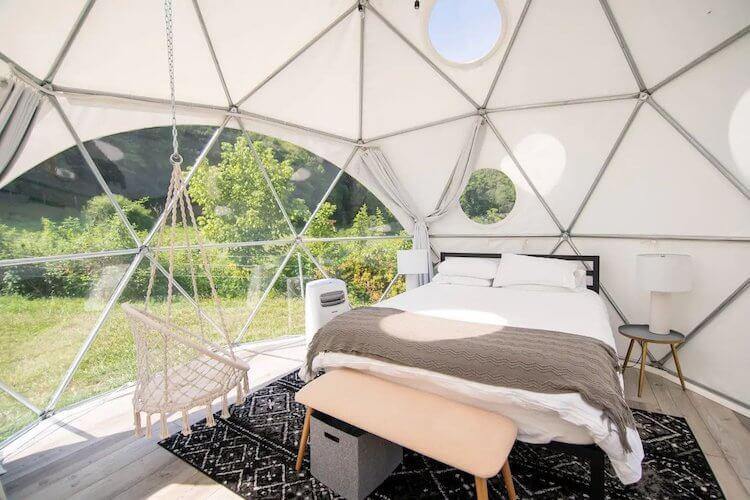 Smoky Mountains Glamping Dome #2