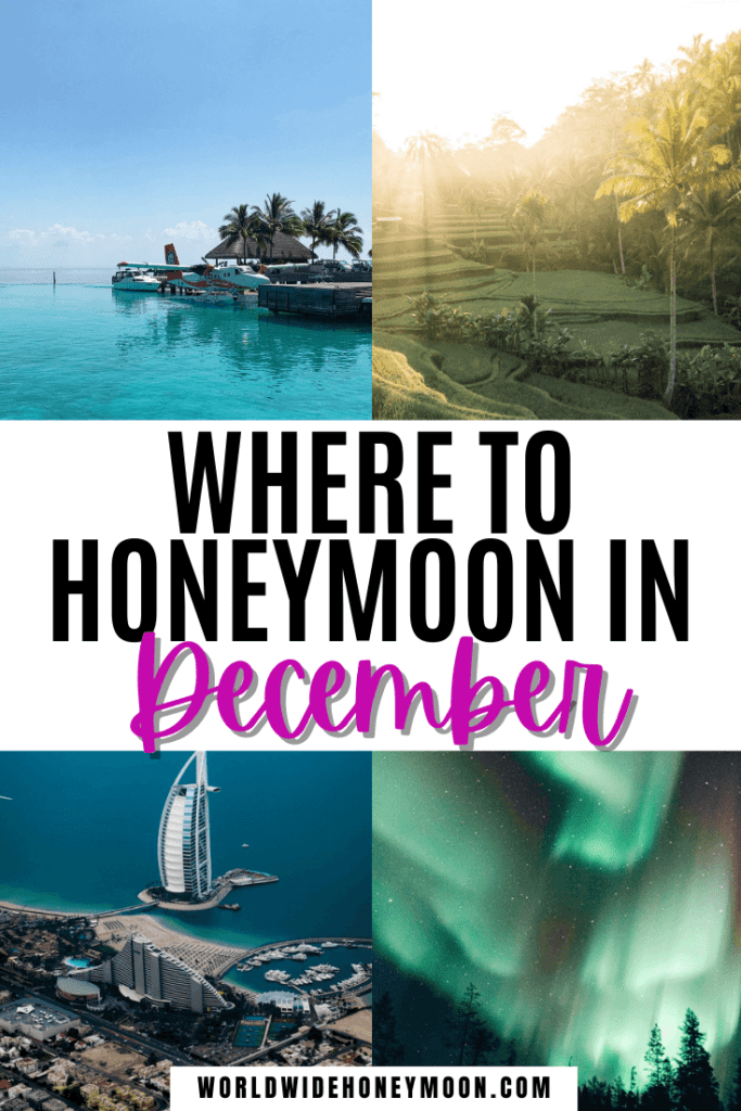 These are the best honeymoon in December destinations | Best December Honeymoon Destinations | Best Honeymoon Destinations in December | Where to Honeymoon in December | December Honeymoon Ideas | Winter Honeymoon Destinations | Winter Honeymoon Ideas | Winter Honeymoon USA | Where to Honeymoon in January |  Europe Honeymoon Destinations | Honeymoon Destinations North America | Africa Honeymoon Destinations | Australia Honeymoon | New Zealand Honeymoon Ideas | Southeast Asia Honeymoon