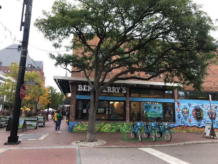 Ben And Jerrys Store Burlington