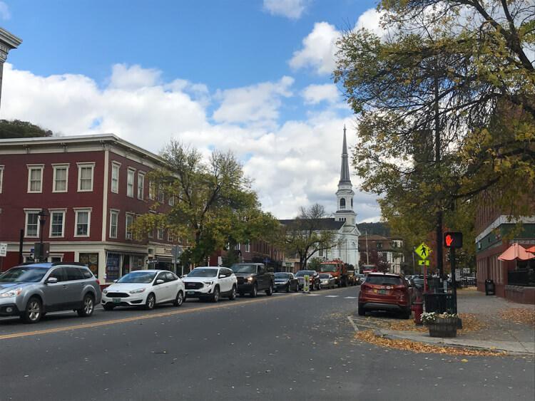Downtown Montpelier Vermont