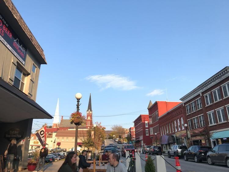 Downtown Rutland Vermont - Road Trip Vermont