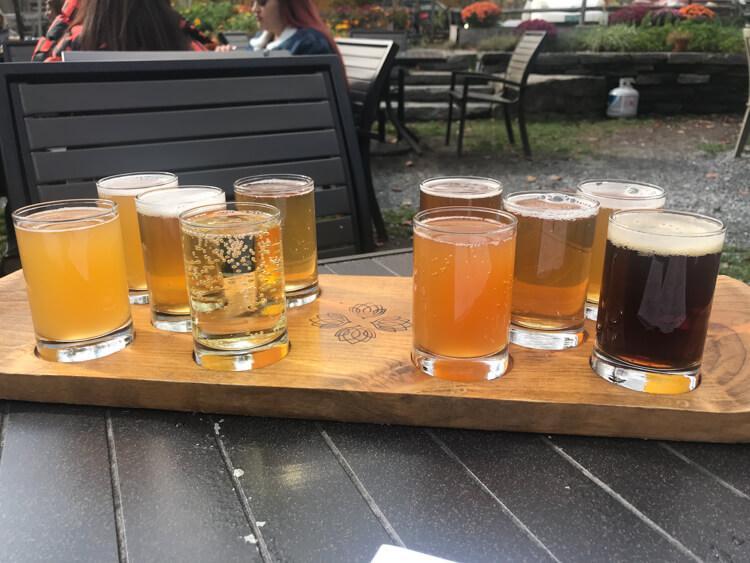 Idyltime Brewing Company Flight