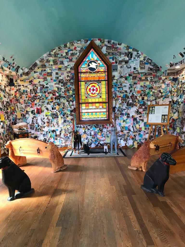 Inside Dog Chapel