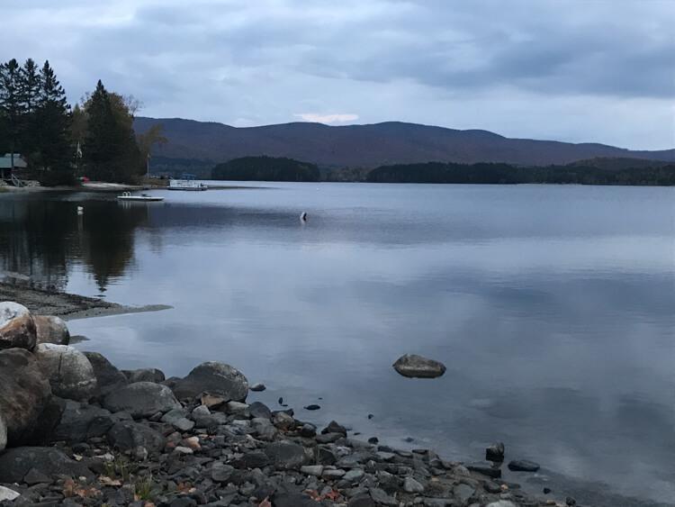 Island Pond in the Northeast Kingdom Vermont