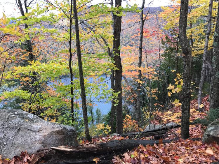 Mt Pisgah Trail overlooking Lake Willoughby