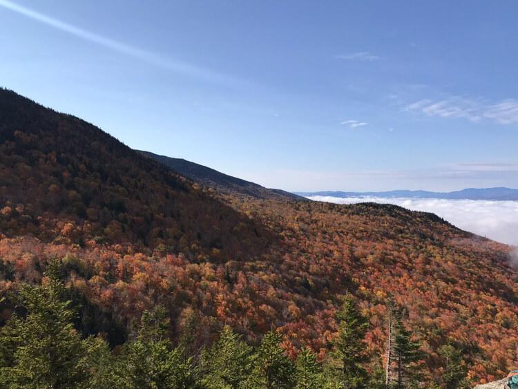 Stowe Pinnacle views from the top