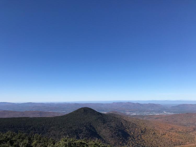 The Top of Mt Killington