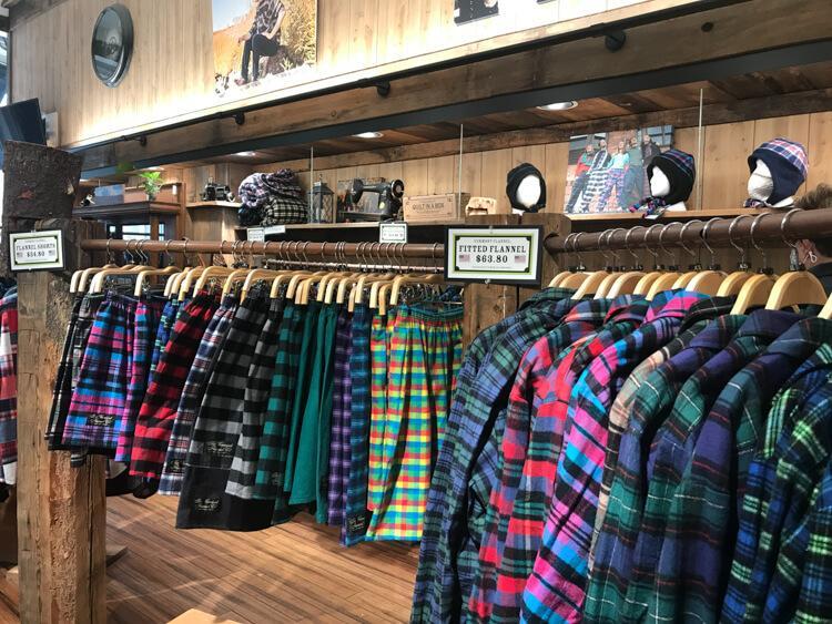 Vermont Flannel Company in Woodstock, Vermont