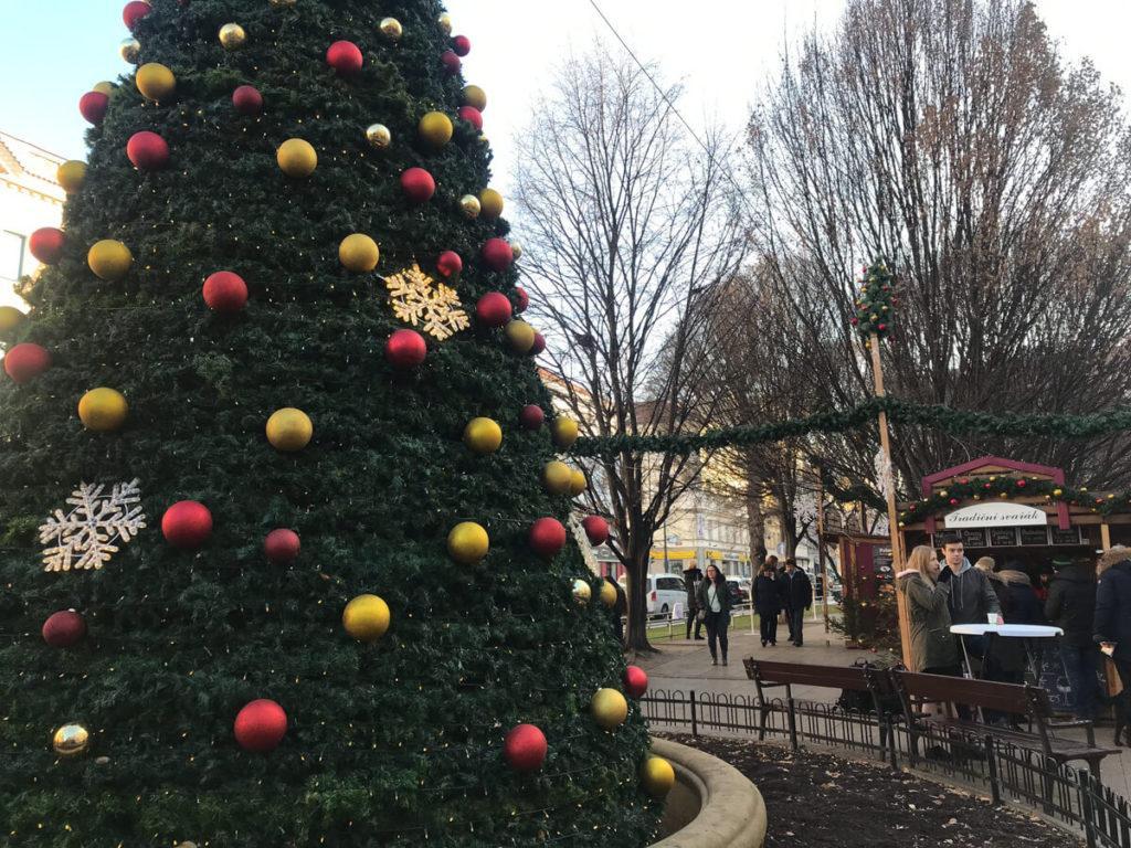 Christmas tree in Prague - Christmas in Prague