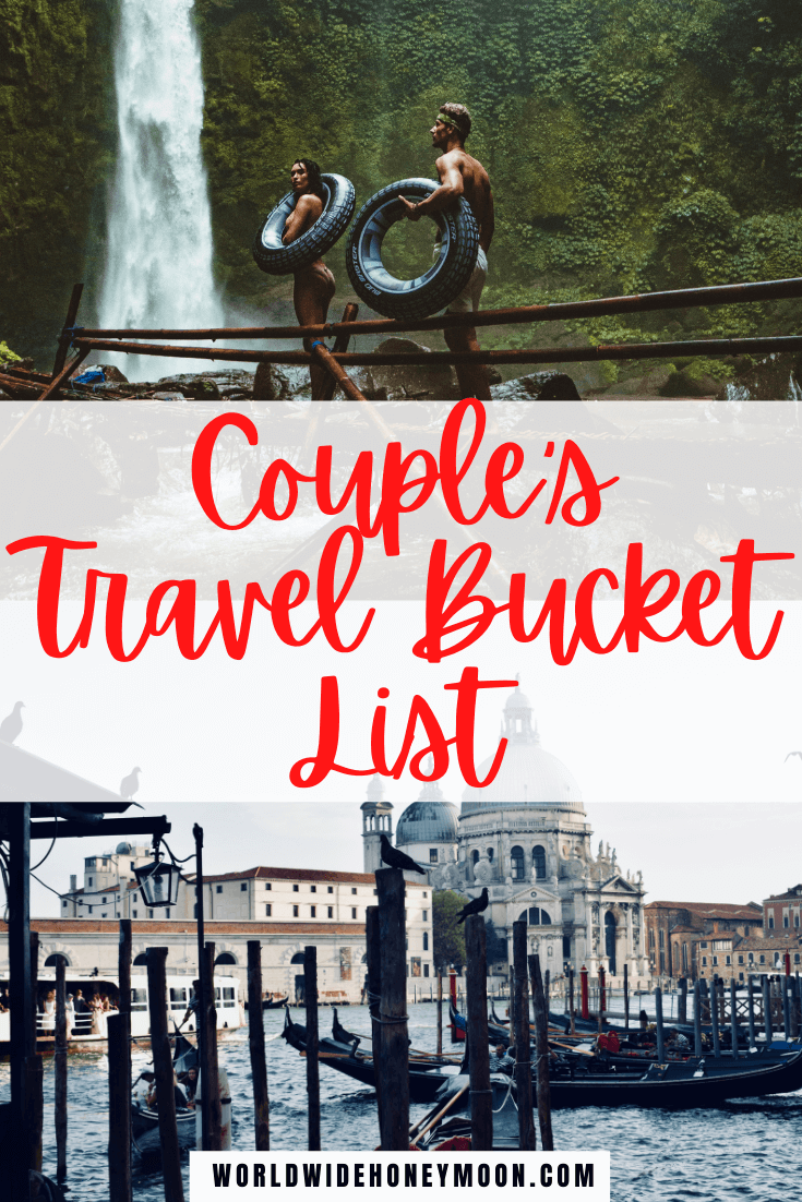 This is the ultimate Couples Travel Bucket List | Bucket List Ideas For Couples Travel | Bucket List for Couples Travel | Bucket List Ideas For Couples Travel Romantic Getaways | Bucket List Ideas for Couples Travel Adventure | Bucket List Destinations | Bucket List Destinations Places to Visit | Bucket List Honeymoon | Honeymoon Bucket List | Bucket List Travel Destinations Honeymoons | Bucket List For Honeymoon | Romantic Destinations Couples