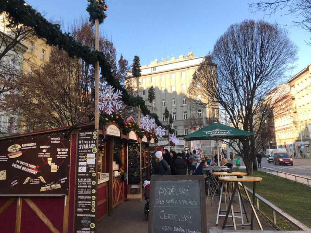 Lovely local Christmas Markets in Prague
