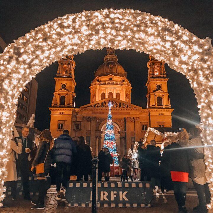 Main Christmas Market in Budapest