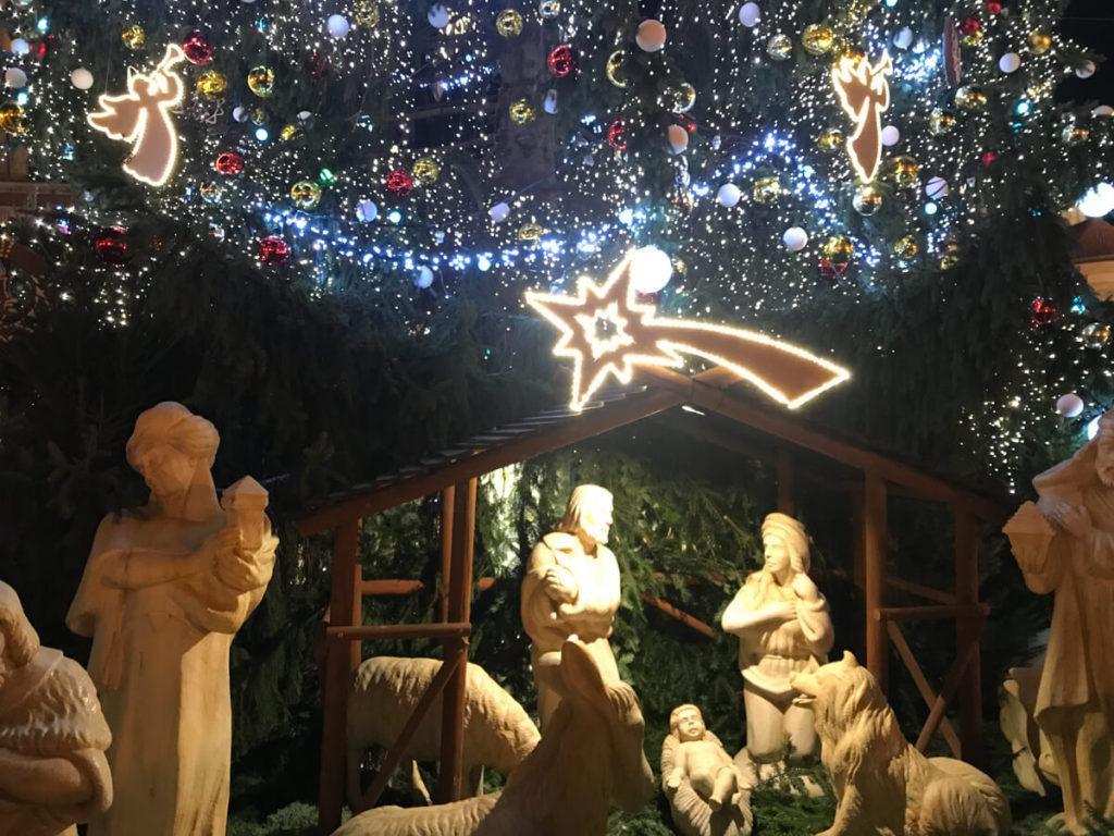 Nativity Scene - Prague at Christmas