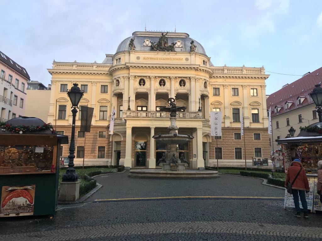 Old Town Bratislava Christmas Market