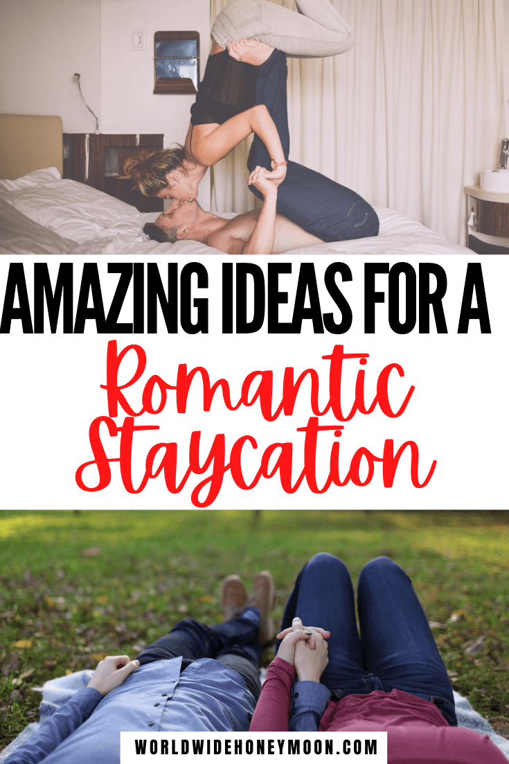 These are the best romantic weekend staycation ideas | Staycation Ideas | Staycation Ideas for Couples | Staycations | Travel While at Home | Can't Wait to Travel | Staycation Ideas for Couples at Home | Can't Afford to Travel | Can't Travel | Date Night Ideas | Date Night Dinner Recipes | Date Night Ideas at Home | Date Night Themes Couples | Valentines Day Date Night Ideas