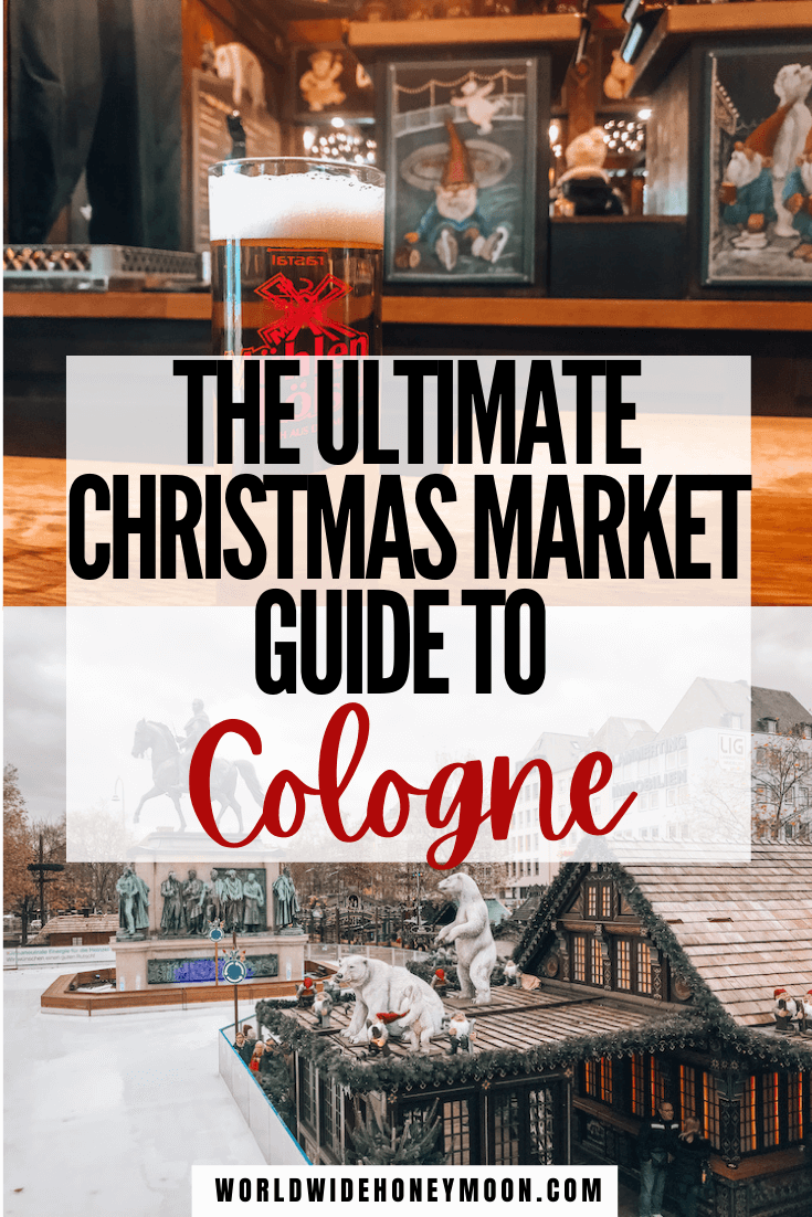 This is the ultimate guide to Cologne Christmas markets | Cologne Cathedral | Koln Christmas Market | Cologne Germany | Cologne Germany Photography | Cologne Christmas Market Germany | Cologne Christmas Market Food | Cologne Germany Christmas | German Christmas Market | Europe Destinations | Winter Destinations in Europe | Best Christmas Markets in Europe