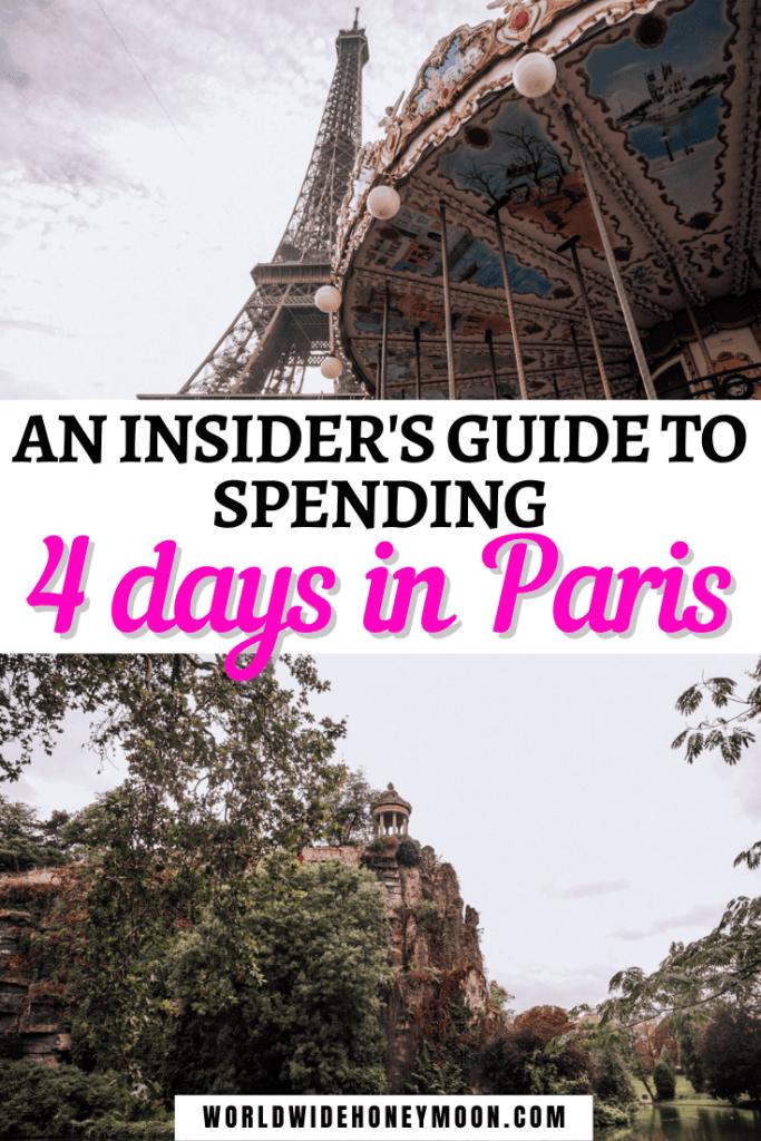 4 Days in Paris