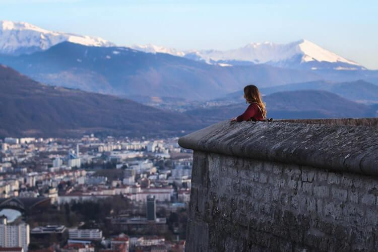 Bastille in Grenoble, France - Things to do near Annecy