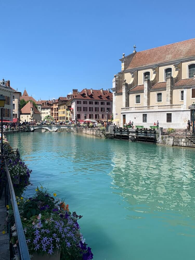 Beautiful downtown Annecy in France - Annecy France Things to do