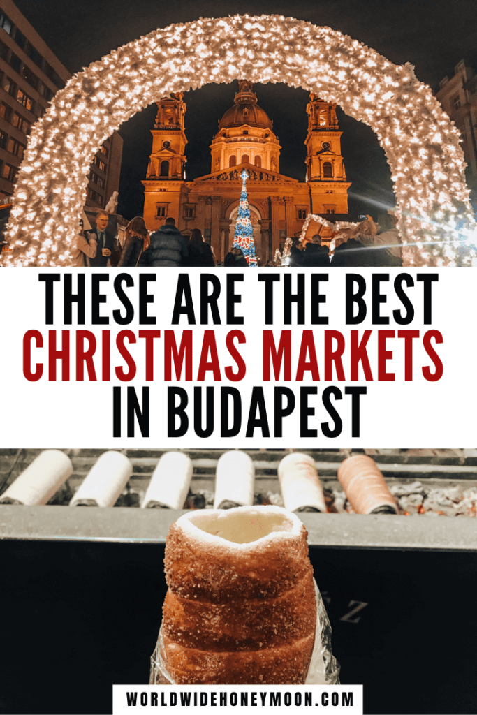 These are the best Christmas markets in Budapest | Christmas Markets Budapest | Budapest Hungary Winter Christmas Markets | Budapest in Winter Christmas Markets | Hungary Budapest Christmas Markets | Winter Budapest Christmas Markets | Things to do in Budapest in Winter | Budapest Winter | Budapest Hungary Winter | Vorosmarty Square Christmas Market | St Stephen's Cathedral Budapest | Budapest in December | Budapest Things to do in December