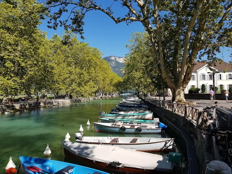 Canals in Annecy
