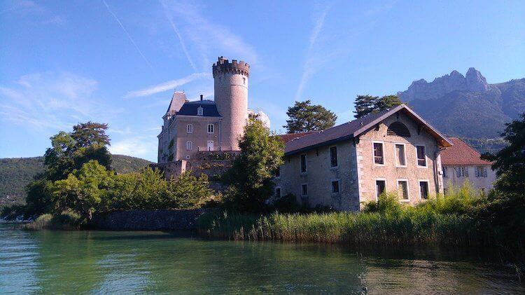 Chateau de Duingt near Annecy