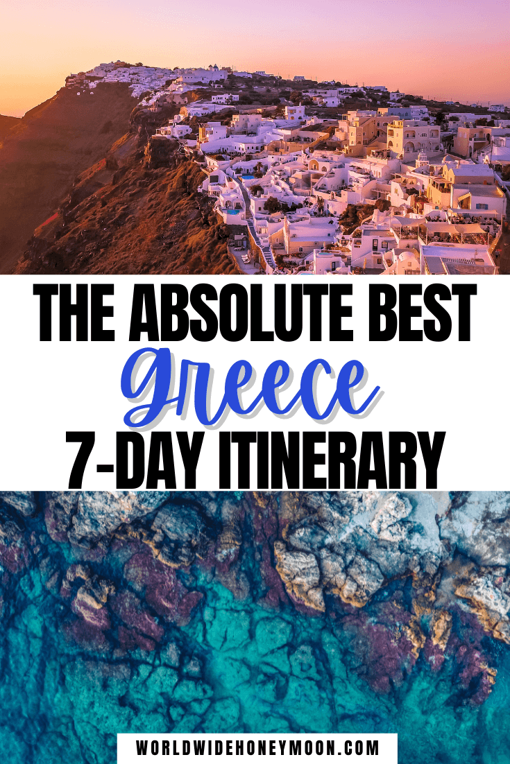 Greece 7 Day Itinerary