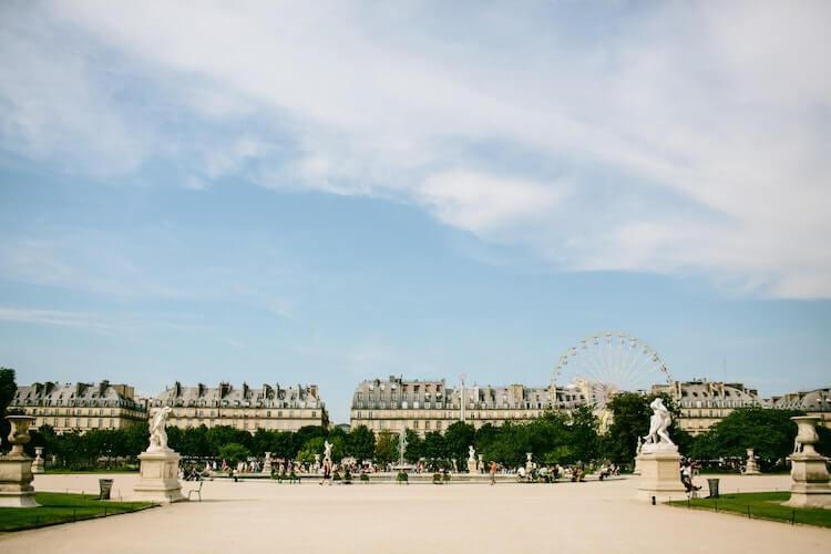 Paris on a sunny day - Best Time to Visit Paris