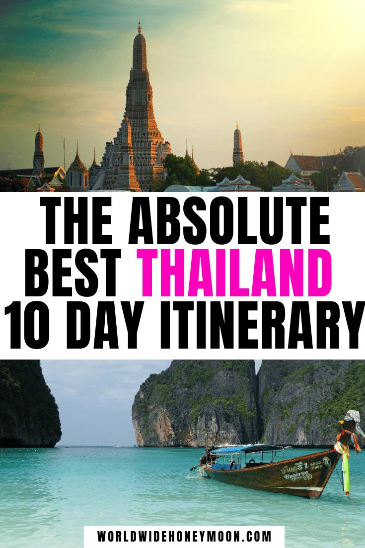 Thailand 10 Day Itinerary