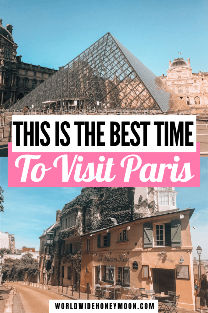 This is the ultimate guide on the best time to go to Paris France | Best Time to Visit Paris France | Best Time to Travel to Paris | Best Time of Year to Visit Paris | Best Time for Paris | Paris in the Spring | Paris in the Summer | Paris in the Fall | Paris in the Winter | Visit Paris for the First Time | When to Travel Paris | When is the Best Time to Go to Paris | Guide to Paris