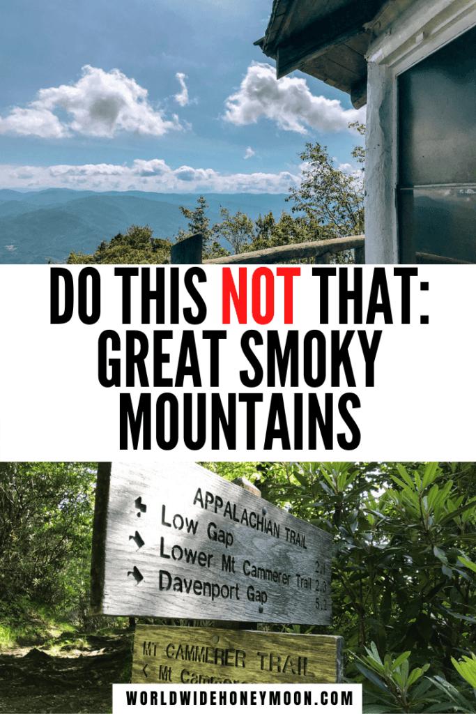 Smoky Mountains National Park Tips