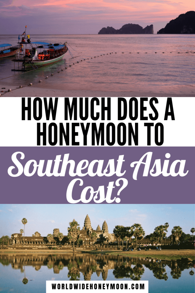 This is the Ultimate Southeast Asia Budget for Couples | Southeast Asia Travel Budget | Budget Travel Destinations Southeast Asia | Southeast Asia Honeymoon | Honeymoon in Southeast Asia | Honeymoon Budget Destinations | Cost to Travel to Thailand | Cost to travel to Southeast Asia | Thailand Honeymoon Budget | Honeymoon in Thailand Budget | Vietnam Honeymoon Budget | Cambodia Honeymoon Budget | Asia Honeymoon Budget