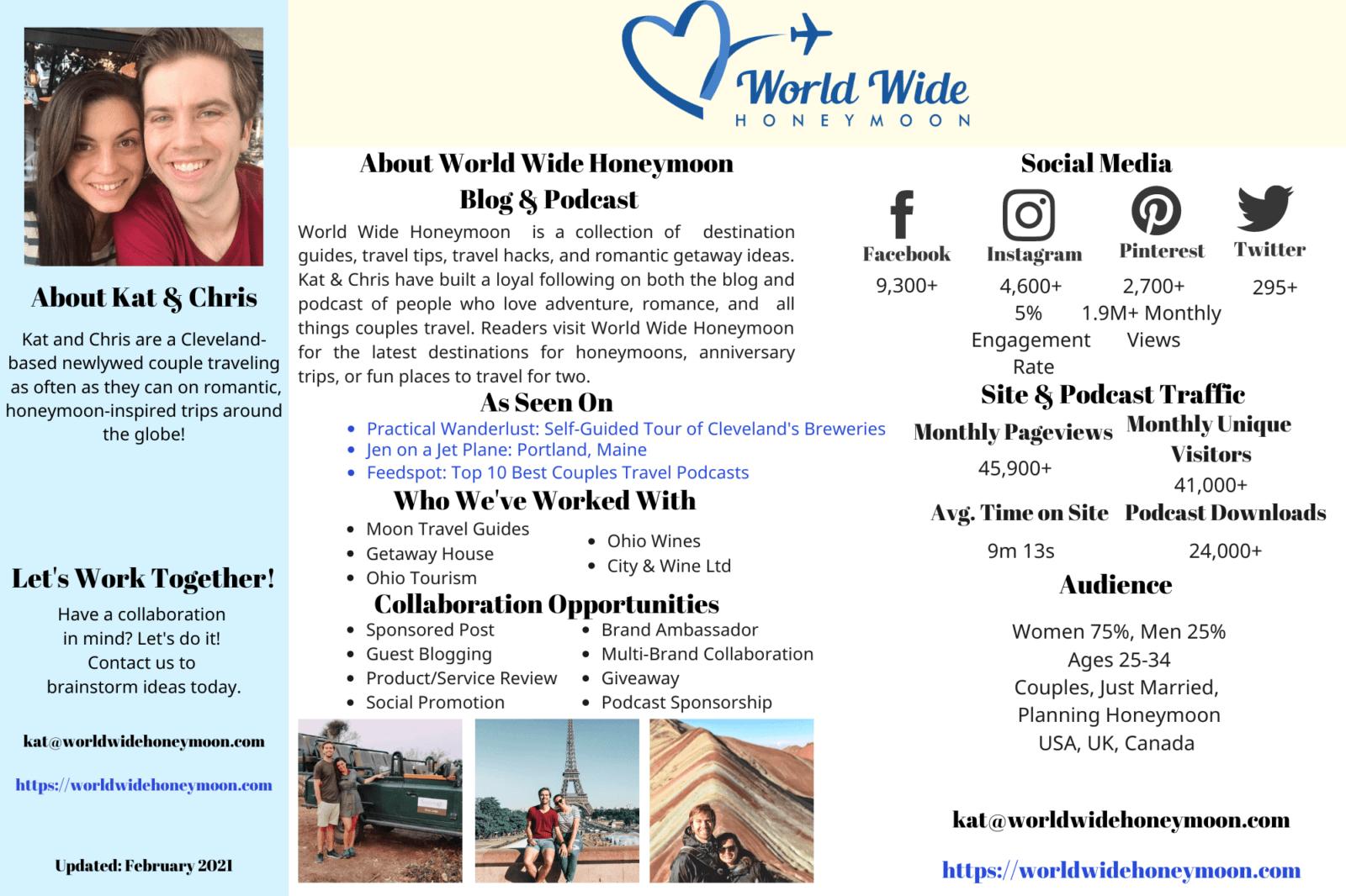 World Wide Honeymoon Media Kit (2) 2